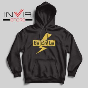 Bazinga The Big Bang Theory Hoodie Black
