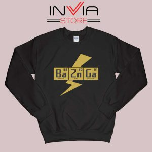 Bazinga The Big Bang Theory Sweatshirt Black