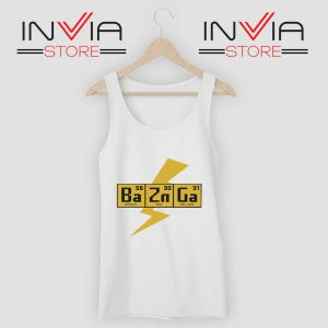Bazinga The Big Bang Theory Tank Top