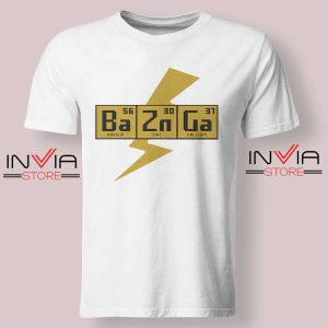 Bazinga The Big Bang Theory Tshirt