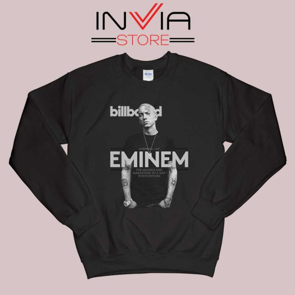 Billboard Magazine Eminem Sweatshirt Black