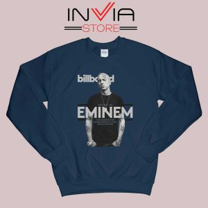 Billboard Magazine Eminem Sweatshirt Navy