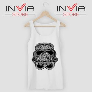 Black Stormtrooper Tank Top