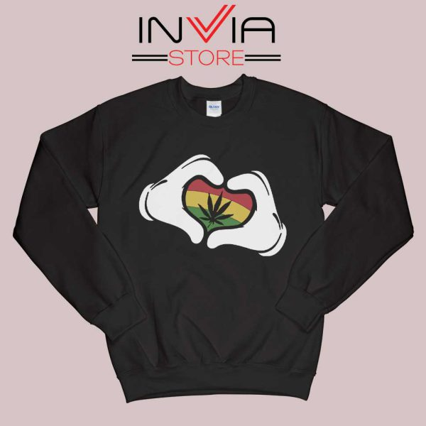 Cartoon Hans Rasta Sweatshirt