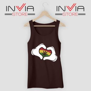 Cartoon Hans Rasta Tank Top