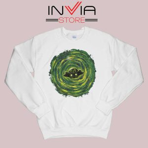 Dimensional Rick Morty Sweatshirt