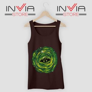 Dimensional Rick Morty Tank Top Black