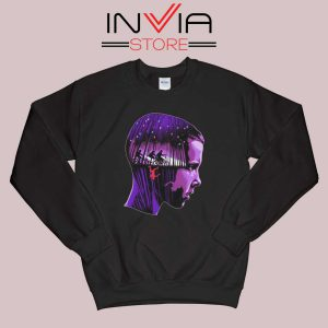 Eleven Stranger Things Sweatshirt Black