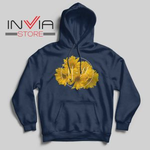 Flower Twenty One Pilot Hoodie Navy