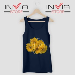 Flower Twenty One Pilot Tank Top Navy