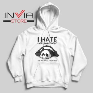 I Hate Morning People Hoodie