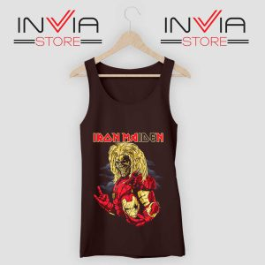 Iron Man Iron Maiden Tank Top