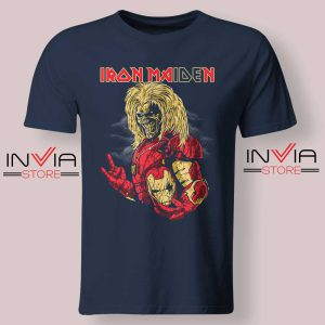 Iron Man Iron Maiden Tshirt Navy