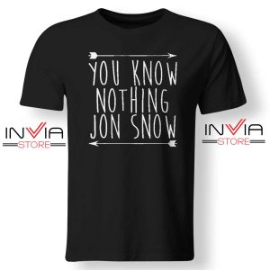 Jon Snow You Know Nothing Tshirt