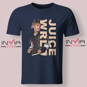Juice WRLD Performance Tshirt Navy