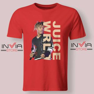 Juice WRLD Performance Tshirt Red
