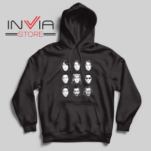 Keanu Reeves Evolution Face Hoodie Black