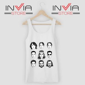 Keanu Reeves Evolution Face Tank Top