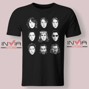 Keanu Reeves Evolution Face Tshirt Black