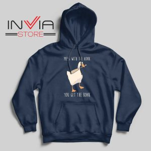 Mess With The Honk Hoodie Navy