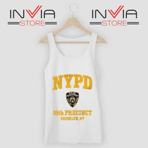 NYPD 99th Precinct Tank Top White