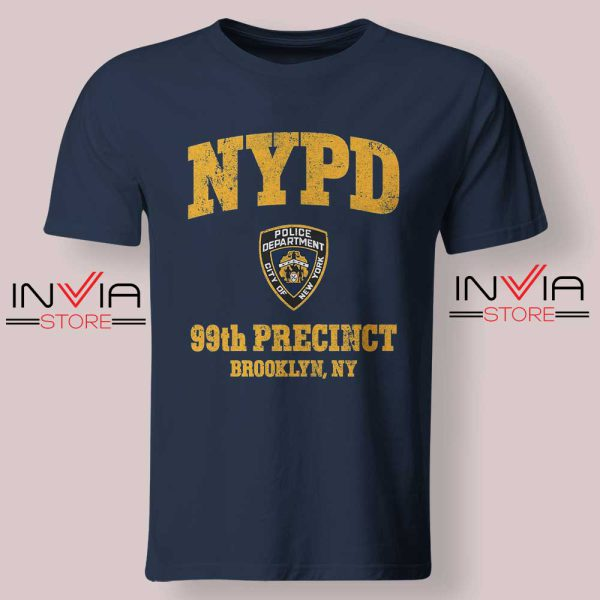 NYPD 99th Precinct Tshirt Navy