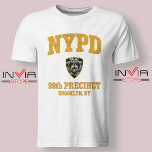 NYPD 99th Precinct Tshirt White