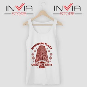 Nakatomi Plaza Christmas Party Tank Top White