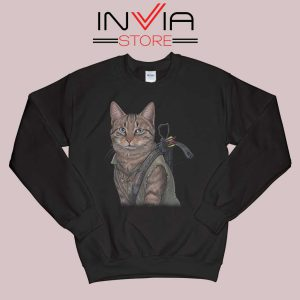 Norman Reedus Cat Sweatshirt