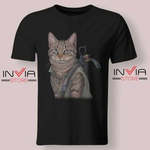 Norman Reedus Cat Tshirt