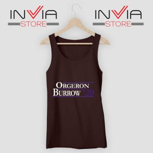 Orgeron Burrow 2020 Tank Top