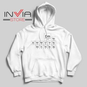 Periodic DnD Game Hoodie White