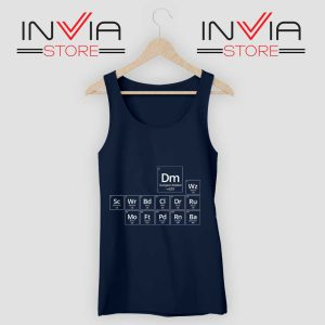 Periodic DnD Game Tank Top Navy