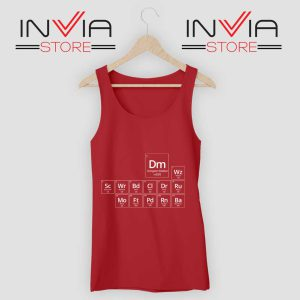 Periodic DnD Game Tank Top Red