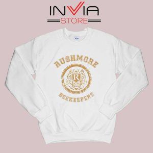 Rushmore Beekeepers Society Sweatshirt White