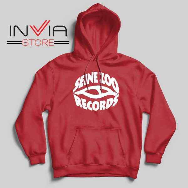 Seine Zoo Records Hoodie Red