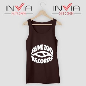 Seine Zoo Records Tank Top Black