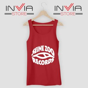 Seine Zoo Records Tank Top Red