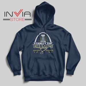 Stanley Cup Champions 2019 Hoodie Navy