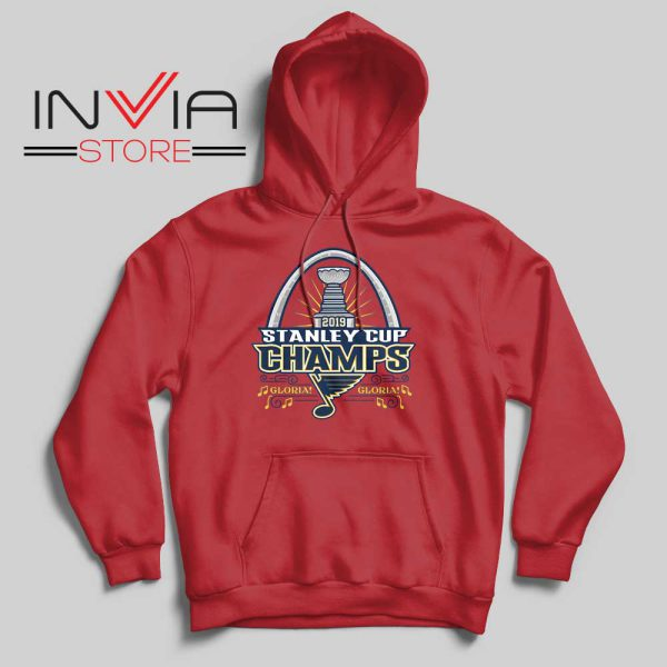 Stanley Cup Champions 2019 Hoodie Red