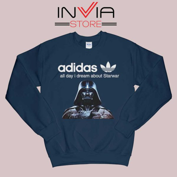 Stormtrooper Star Wars Adidas Sweatshirt Navy