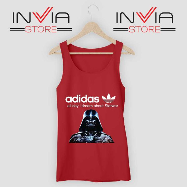 Stormtrooper Star Wars Adidas Tank Top Red