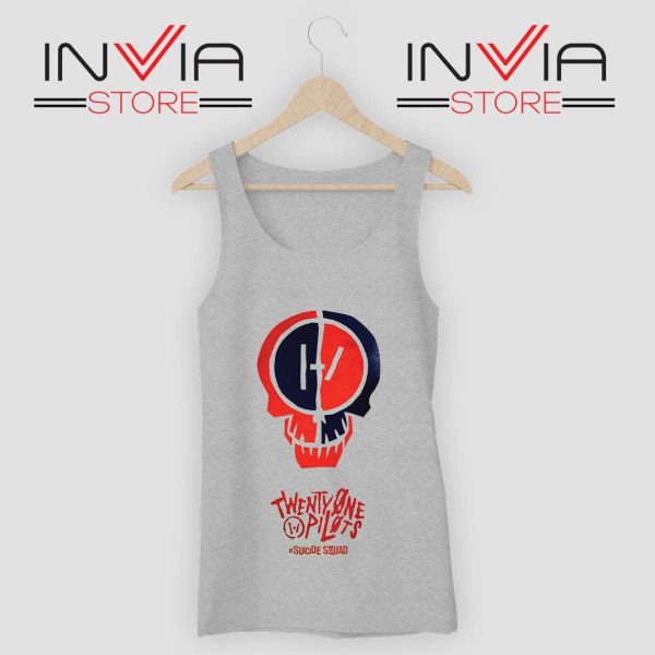 Suicide Squad OST Tank Top Grey