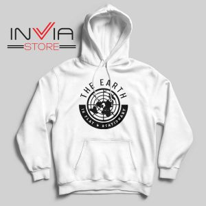 The Earth Is Flat and Stationary Hoodie