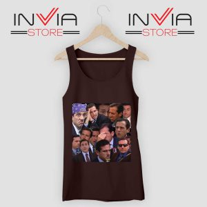 The Office Face Tank Top