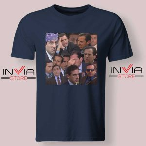 The Office Face Tshirt Navy