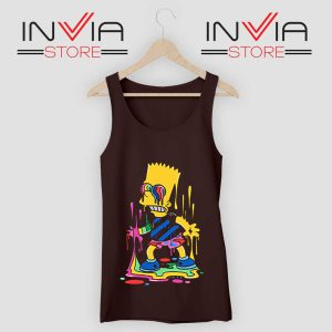 Trippy Bart Simpsons Tank Top