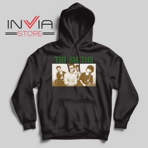 Vintage The Smiths Hoodie Black