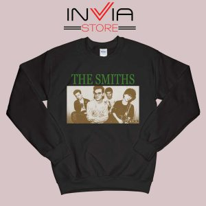 Vintage The Smiths Sweatshirt Black