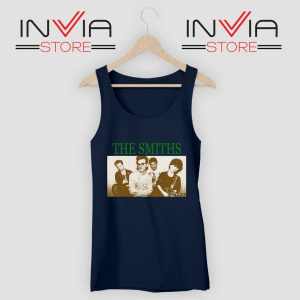 Vintage The Smiths Tank Top Navy